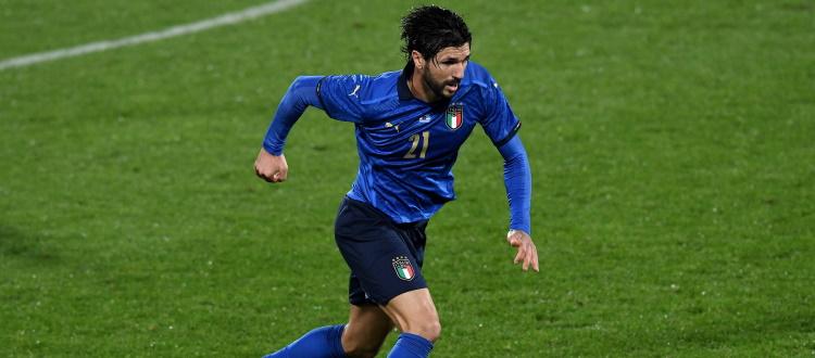 Soriano chiamato da Mancini per le gare contro Irlanda del Nord, Bulgaria e Lituania, escluso Orsolini
