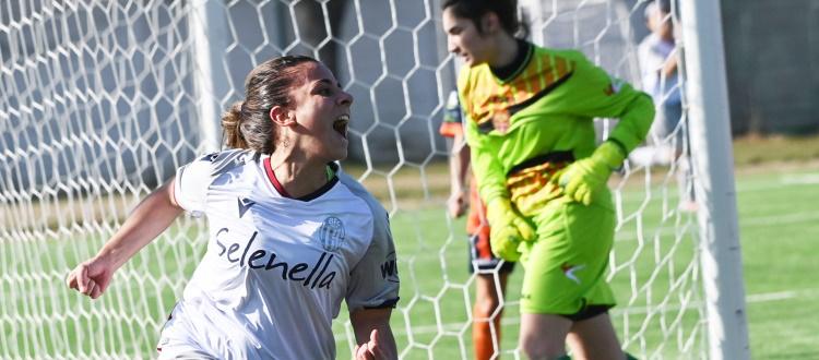Bologna Femminile, domenica il recupero della gara di Arezzo. Racioppo:
