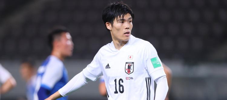 Tomiyasu, 71 minuti in un match storico: Giappone a valanga 14-0 sulla Mongolia