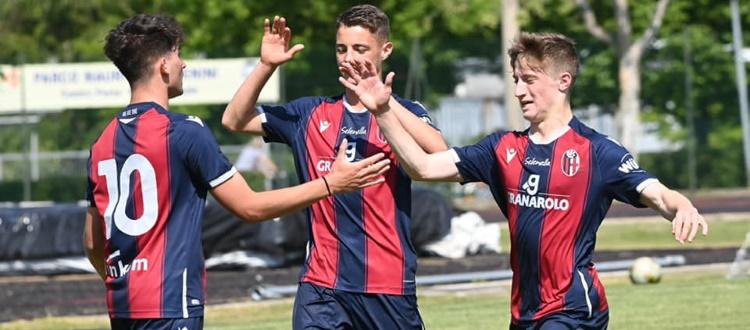 Bologna Under 17 travolgente, Spezia sconfitto 6-3 e primo posto nel girone consolidato