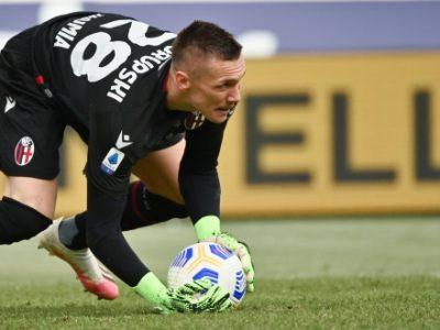 Lukasz Skorupski raggiunge quota 100 presenze con la maglia del Bologna