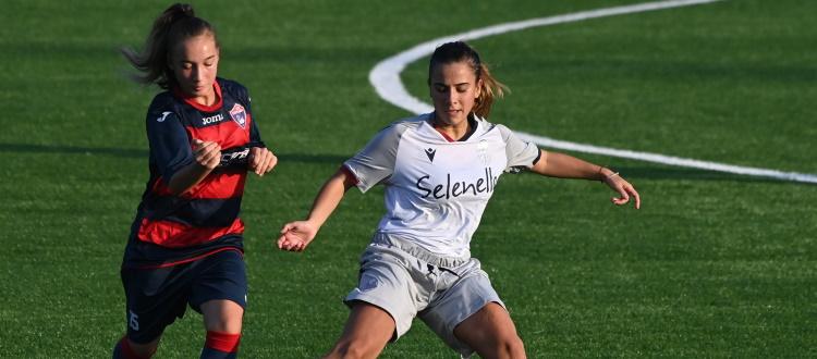 Gran gol di Racioppo e il Bologna Femminile torna al comando da solo: Vis Civitanova piegata 1-0