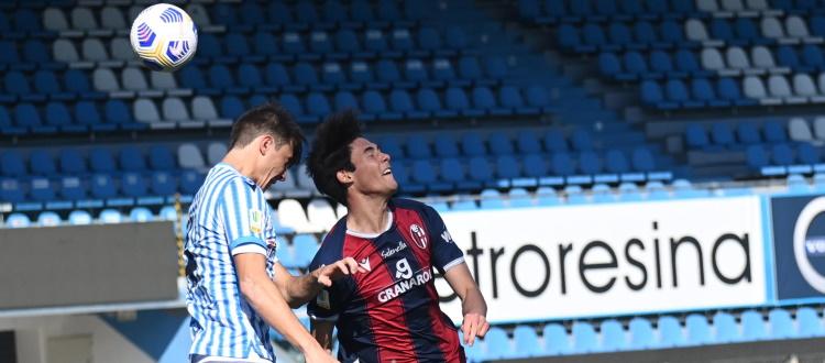 Una magia di Pagliuca salva in extremis il Bologna Primavera, al Mazza il derby con la Spal finisce 2-2