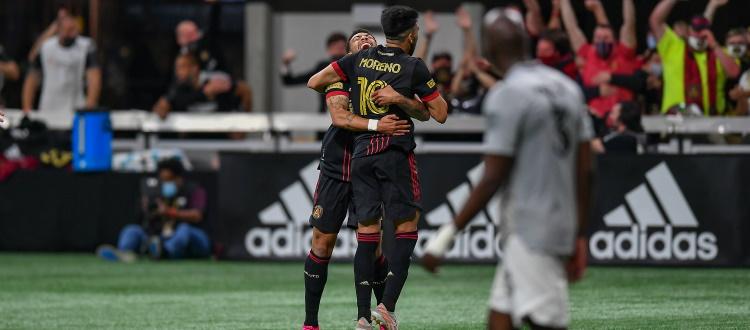 CF Montréal, ad Atlanta una sconfitta che brucia: Moreno trafigge i canadesi all'ultimo secondo