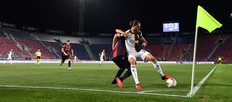 Bologna sempre aggrappato al successo di 23 anni fa, nella scorsa stagione 2-0 Juventus dopo il lockdown