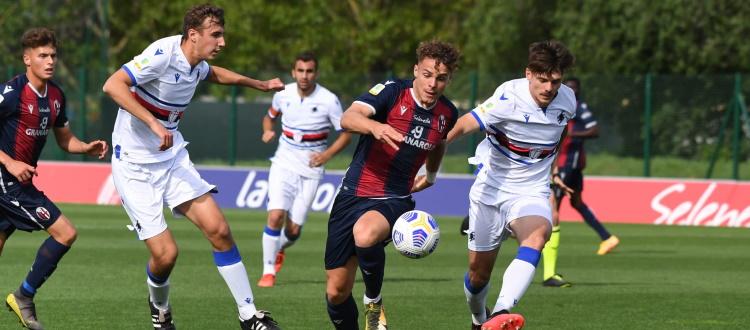 Il BFC Primavera lotta ma esce sconfitto dalla capolista Sampdoria: non basta una gran doppietta di Vergani, 2-3 a Casteldebole