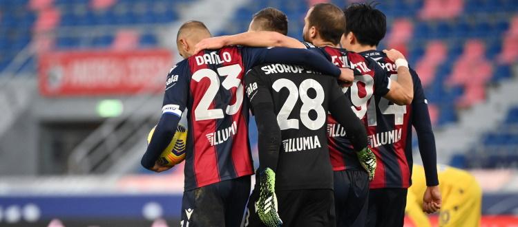 Bologna, il primo gol cambia tutto: media punti da Champions quando si porta in vantaggio, da retrocessione quando va sotto