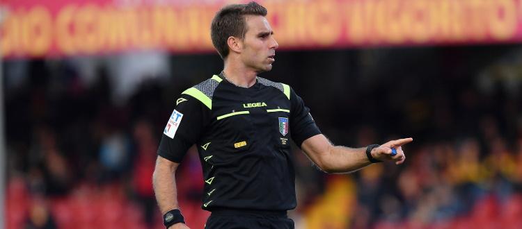 Bologna-Genoa sarà diretta da Francesco Fourneau di Roma