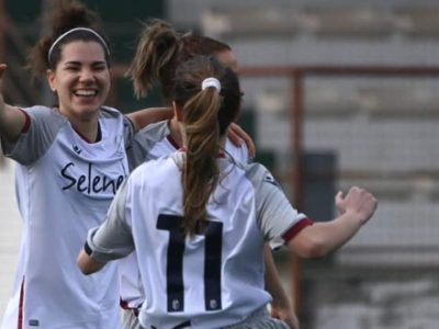 Il Bologna Femminile continua a lottare per la promozione in B, Mastel e Arcamone affondano 4-0 la Roma Decimoquarto