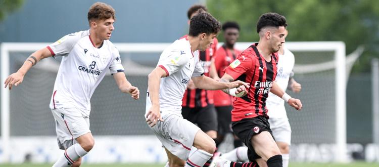 Bologna Primavera sconfitto 4-2 sul campo del Milan, unica nota lieta il ritorno al gol di Ruffo Luci