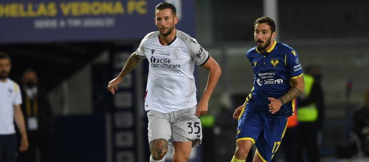 Dijks e Soriano, diffidati e ammoniti contro il Verona, salteranno Bologna-Juventus