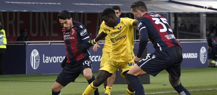 Ripresa degli allenamenti verso Udinese-Bologna, Dijks e Sansone in parte col gruppo