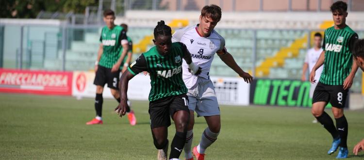 Ravaglia tradisce il Bologna Primavera, Ruffo Luci lo salva: 1-1 in rimonta a Sassuolo
