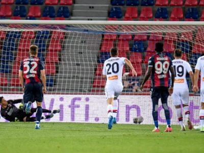 Le motivazioni del Genoa hanno prevalso sul gioco del Bologna. Palacio e Soriano esemplari, prova negativa dei difensori