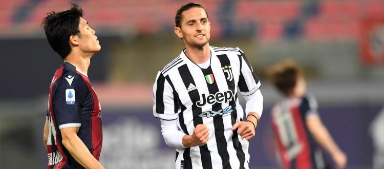 Bologna, la serata peggiore possibile: la Juventus si diverte 4-1 e festeggia la qualificazione Champions al Dall'Ara