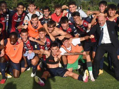 Il Bologna Primavera resta nel massimo campionato: Lazio piegata 2-1 ai supplementari, decisivo Rocchi