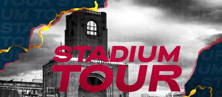 Sabato 12 giugno riparte il Dall'Ara Stadium Tour