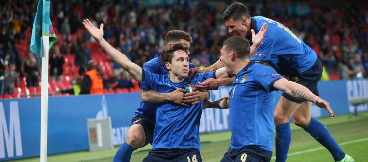 Sofferenza e gioia, l'Italia piega l'Austria ai supplementari e conquista i quarti di Euro 2020: a segno Chiesa e Pessina, gran partita di Arnautovic