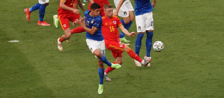 L'Italia vince ancora e vola agli ottavi di Euro 2020 da prima del girone: Galles battuto 1-0 grazie a Pessina