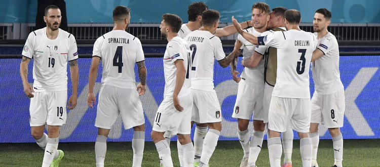 Italia, esordio col botto agli Europei: Turchia schiantata 3-0, tifosi in festa all'Olimpico di Roma