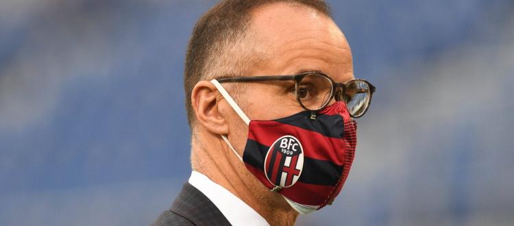 Saputo da questa mattina a Casteldebole, il presidente rossoblù resterà in Italia una settimana