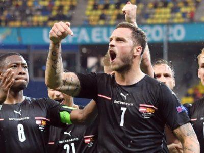 Arnautovic entra e lascia l'autografo su Austria-Macedonia del Nord: suo il gol del 3-1