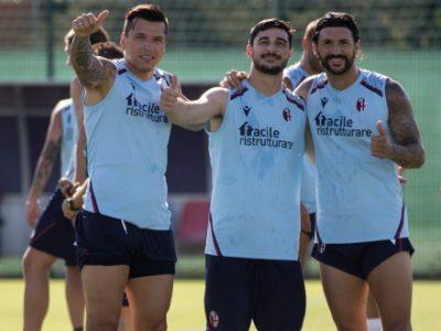 Seduta atletica fra campo e palestra per il Bologna, anche domani allenamento alle 10