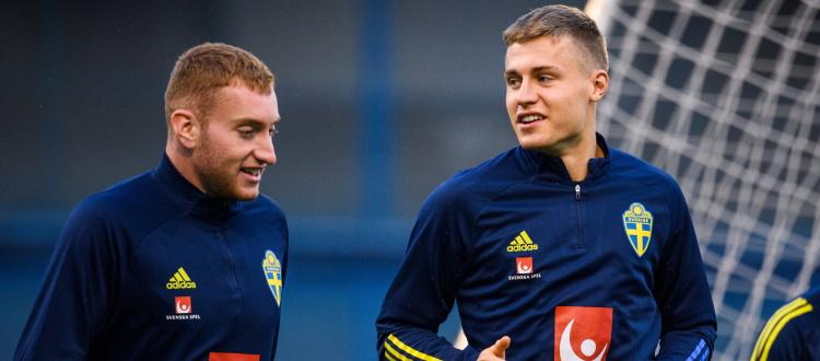 Svanberg e Kulusevski negativi al COVID, entrambi possono rientrare nel gruppo della Svezia