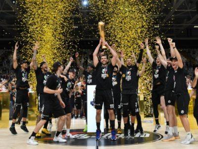 BFC, una pagina sul Resto del Carlino per congratularsi con la Virtus campione d'Italia