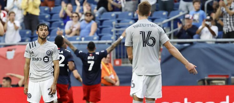 Un buon CF Montréal non basta, a Foxborough la capolista New England Revolution si impone 2-1