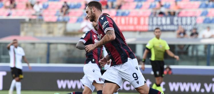 Esordio ufficiale col Bologna per Annan, Bonifazi, Van Hooijdonk e Arnautovic, per l'austriaco anche il primo gol in maglia rossoblù