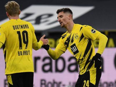 Brandt e Meunier del Borussia Dortmund positivi al COVID, il tedesco era in campo venerdì scorso contro il Bologna