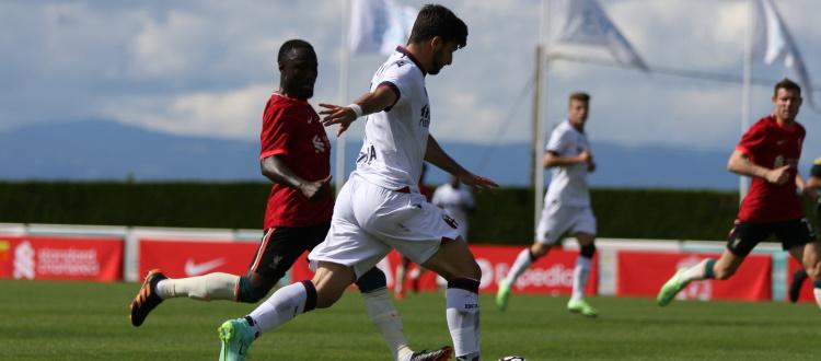 Liverpool-Bologna, 2-0 nel primo match: errori fatali di Bonifazi e Svanberg a favorire Jota e Mané, rossoblù pericolosi solo nel finale