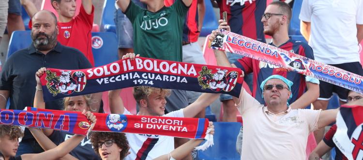 Superata quota 5.000 per Bologna-Salernitana, da domani vendita aperta a tutti. Biglietterie del Dall'Ara chiuse anche domenica