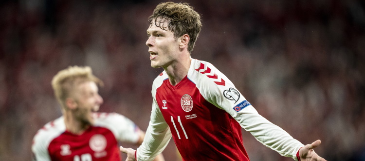 Gran gol di Skov Olsen nel 5-0 della Danimarca su Israele, esordio per Kingsley nella Nigeria, in campo anche Arnautovic, Mbaye e Urbanski