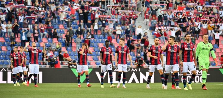 Superata quota 10.000 biglietti per Bologna-Lazio di domenica, esaurita la Curva Bulgarelli