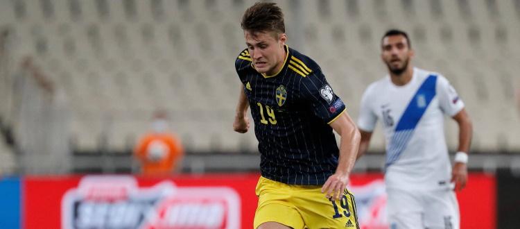 Svanberg ancora titolare nella Svezia, scandinavi sconfitti 2-1 dalla Grecia ad Atene