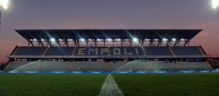 Da oggi a sabato la prevendita per Empoli-Bologna, biglietti in Curva Sud disponibili a 25 €