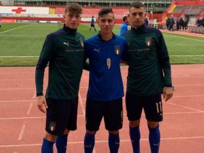 Minuti e ottime impressioni per i giovani rossoblù Raimondo, Stivanello e Motolese con l'Italia Under 18